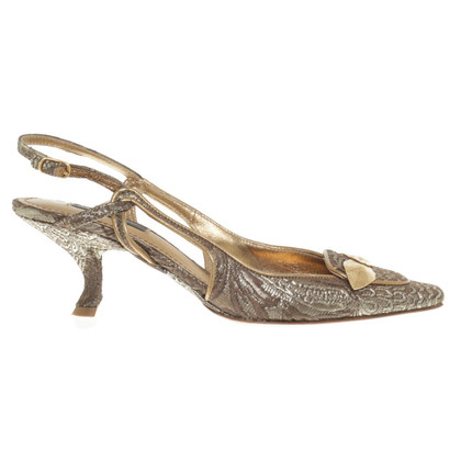 Dolce & Gabbana Slingback pumps in oro