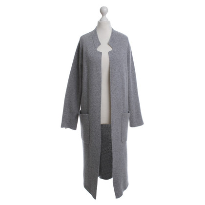 Allude Long Cardigan in grey