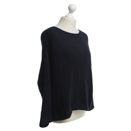 Stefanel Knit sweater in dark blue