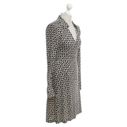 Diane von Furstenberg Wrap dress in black and white