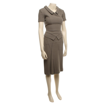 Other Designer Roland Mouret - costume in beige