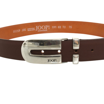 JOOP! Brown leather belt