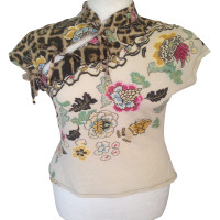Roberto Cavalli Blouse with print