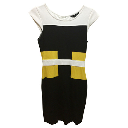 French Connection Colourblock-jurk