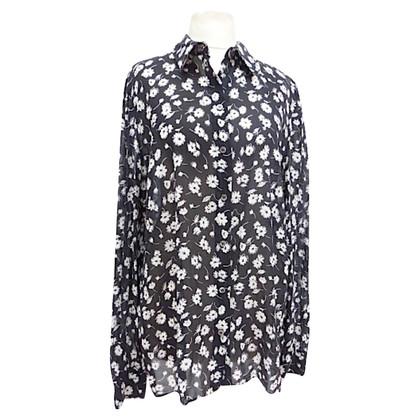 Dolce & Gabbana Silk blouse with print
