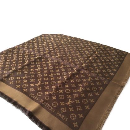 Louis Vuitton Monogram-shine cloth in brown/gold
