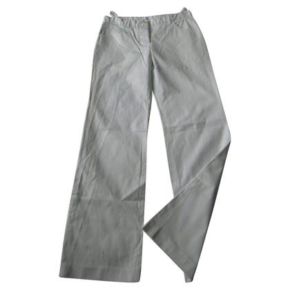 Helmut Lang Pantaloni verde chiaro