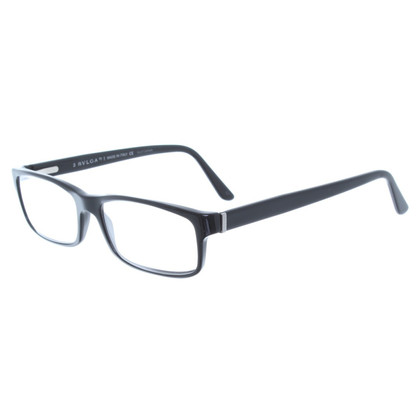 Bulgari Narrow eyeglass frame in black