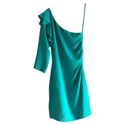 Diane von Furstenberg One-shoulder silk dress
