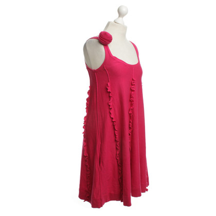 Sonia Rykiel for H&M Cotton Dress in Fuchsia