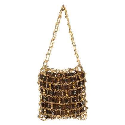 Daniel Swarovski Handtasche mit Perlen
