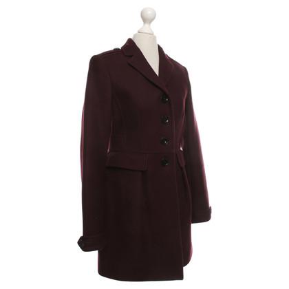 Burberry Coat in Bordeaux