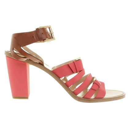 Fratelli Rossetti Sandaletten in Pink/Braun