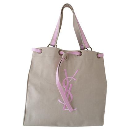 Yves Saint Laurent Canvas Tote bag