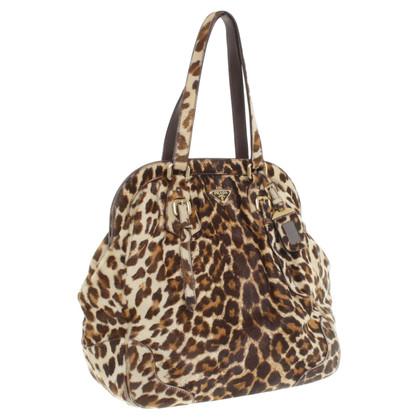 Prada Handtasche mit Animal-Design