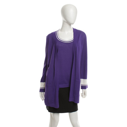 Escada Twinset in purple
