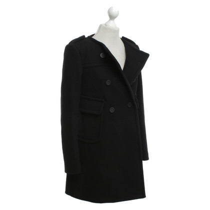 Dondup Wool coat in black