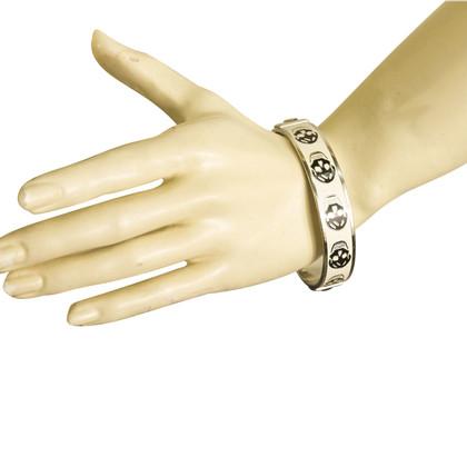 Alexander McQueen Armband in zwart / White