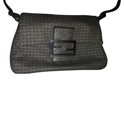 Fendi silver bag