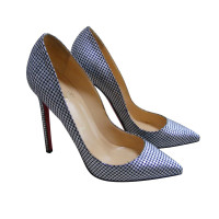 Christian Louboutin Pigalle 120 Omicron Fabric