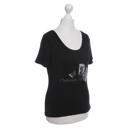 Christian Dior Top in zwart