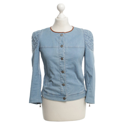 Louis Vuitton Jeansjacke in Blau