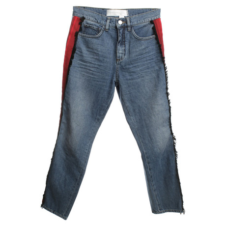 Victoria by Victoria Beckham Jeans in Multicolor Bunt / Muster