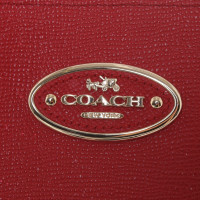 Coach Sac à main en rouge