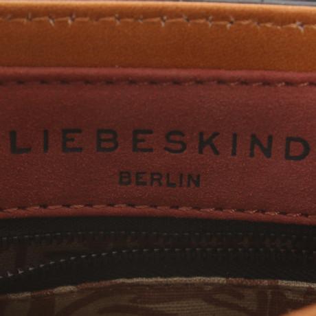 Liebeskind Berlin Umhängetasche aus Leder Braun Vorbestellung Günstig Kosten Freies Verschiffen Wiki Nagelneu Unisex lucFe0p