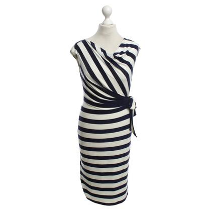 Ralph Lauren Gestreiftes Kleid in Bicolor