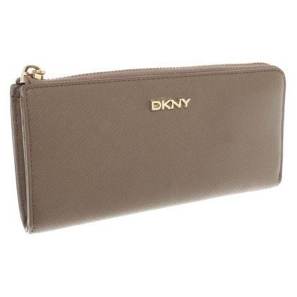 DKNY Wallet in taupe