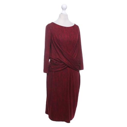 Hobbs Kleid in Rot/Schwarz