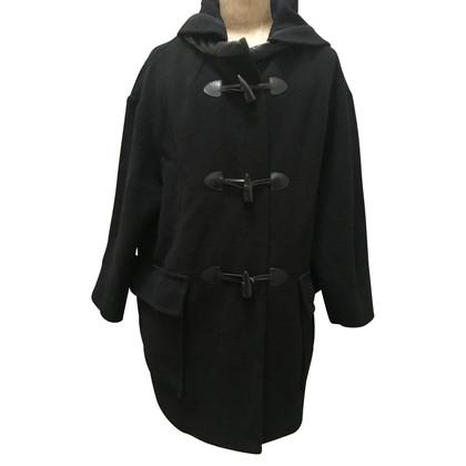 Isabel Marant Zwarte wol dufflecoat