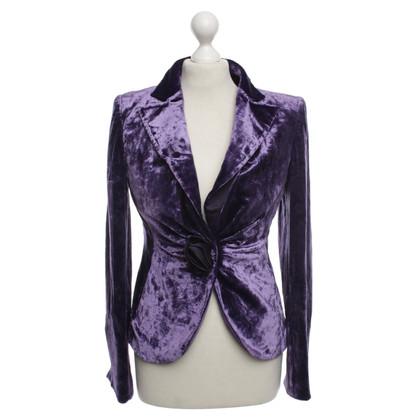 Armani Collezioni Blazer in violet
