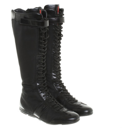 Prada Boots with laces