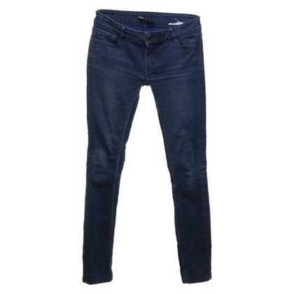 Maje Blauwe spijkerbroek