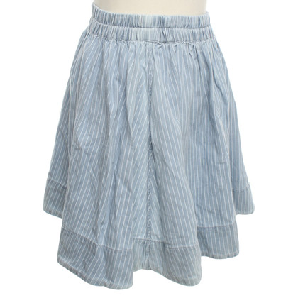 Marc Jacobs Flared skirt with stripes