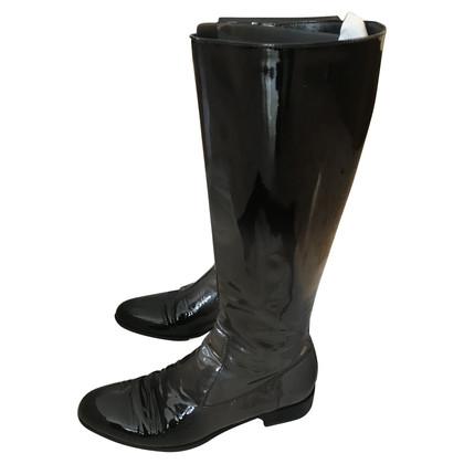 Prada Boots vervaagde verf