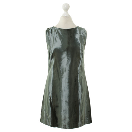 Gianni Versace Velvet dress in green