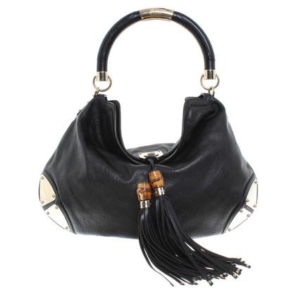 """Gucci """"Indy Bag' in zwart"""