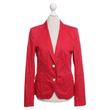Drykorn Classic blazer in red