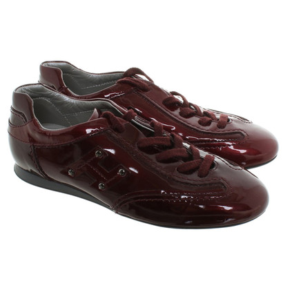 Hogan Sneaker in Bordeaux
