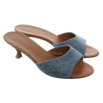 Walter Steiger Slippers with jeans straps