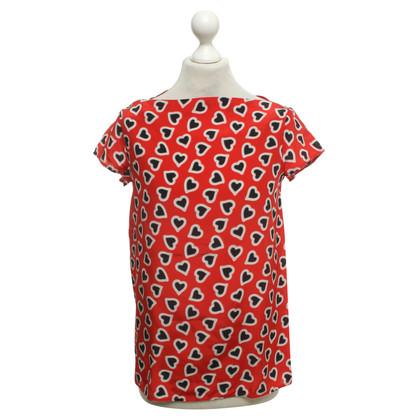 Miu Miu top with pattern