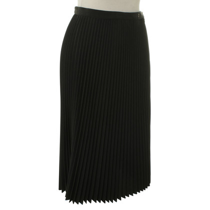Jean Paul Gaultier Pleated skirt in black