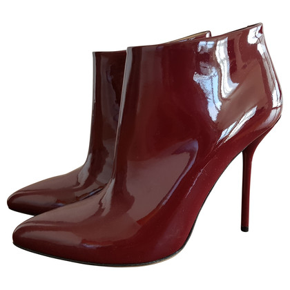 Gucci Ankleboot ankle boot made of patent leather