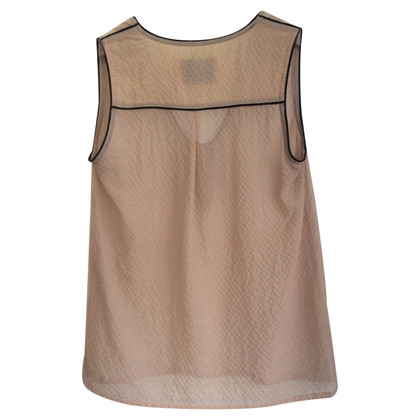 Marcel Ostertag Top in Creme