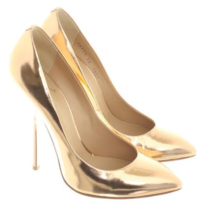 Giuseppe Zanotti pumps in gold