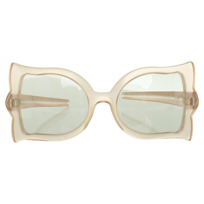 Nina Ricci Glasses in frosted glass look