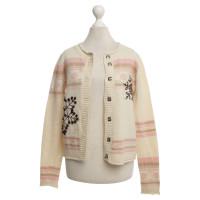 Kenzo Wool cardigan in cream